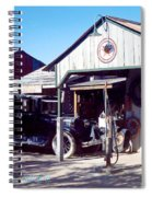 Detail Of Very Cool Old Black Truck 3 Spiral Notebook