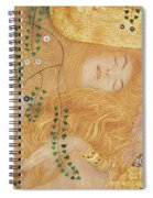 Detail Of Water Serpents I Spiral Notebook