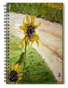 Detail Slunecnic3 Spiral Notebook