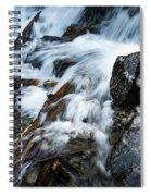Detail Wild Stream Spiral Notebook