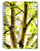 Detailed Tree Branches 2 Spiral Notebook