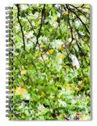 Detailed Tree Branches 4 Spiral Notebook
