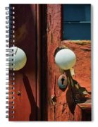 Details From The Past Spiral Notebook