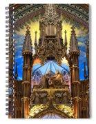 Details Notre Dame Montreal Spiral Notebook