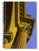 Details Palace Of Fine Arts Spiral Notebook