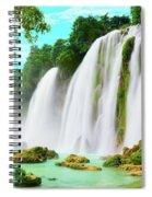 Detian Waterfall Spiral Notebook