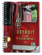 Detroit Fire Department Spiral Notebook