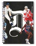 Legends Of The D Spiral Notebook