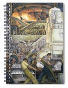 Detroit Industry   North Wall Spiral Notebook