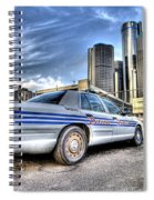 Detroit Police Spiral Notebook