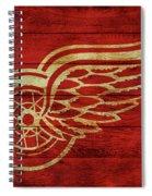 Detroit Redwings Barn Door Spiral Notebook