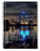 Detroit Reflections Spiral Notebook