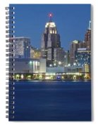 Detroit Stretches Out Spiral Notebook