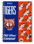 Detroit Tigers 1962 Yearbook Spiral Notebook