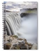 Dettifoss Spiral Notebook