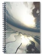 Deviating World Spiral Notebook