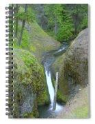 Devil Creek Falls   Spiral Notebook