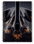 Devil Horn Focus Stack Spiral Notebook