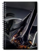 Devil Horns Macro Spiral Notebook