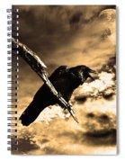 Devil In The Clouds Spiral Notebook