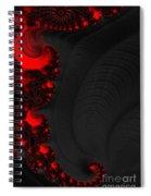 Devil Light 2   A Fractal Abstract Spiral Notebook