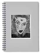 Devil Print Two Out Of Five  Spiral Notebook