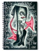Devilicious Boot Spiral Notebook