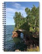 Devil's Cave Spiral Notebook
