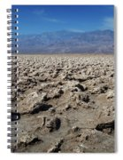 Devil's Golf Course Spiral Notebook
