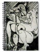 Devils Horse Spiral Notebook