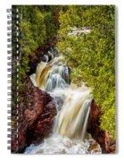 Devil's Kettle Falls Spiral Notebook