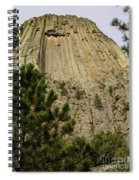 Devils Tower 8 Spiral Notebook