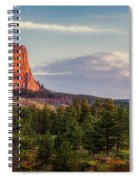 Devil's Tower Morning Spiral Notebook