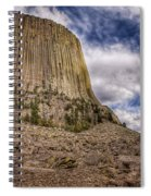 Devil's Tower Summer Afternoon Spiral Notebook