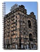 Divine Lorraine Hotel - Broad Street Philadelphia Spiral Notebook