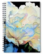 Dew Drops On Peony Spiral Notebook