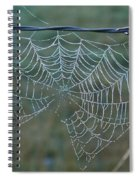 Dew On The Web Spiral Notebook