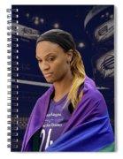 Dewanna Bonner Lgbt Pride 4 Spiral Notebook