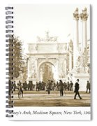 Dewey's Arch Monument, Madison Square, New York, 1900 Spiral Notebook