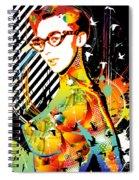 Dexterous Dame Spiral Notebook