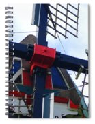 Dezwaan Windmill Holland Michigan Spiral Notebook