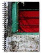 Dharamsala Window Spiral Notebook