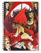 Meneater Evil Girls Spiral Notebook