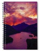 Diablo Lake, United States Spiral Notebook