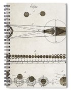 Diagram Of Eclipses, 18th Century Spiral Notebook