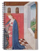 Dialogue Between Boethius And Philosophy Spiral Notebook