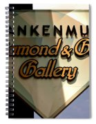 Diamond And Gem Gallery Spiral Notebook