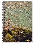 Diamond Head Lighthouse Spiral Notebook