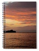 Diamond Head Sunrise Spiral Notebook