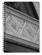 Diamond Patterns In Black And White Spiral Notebook